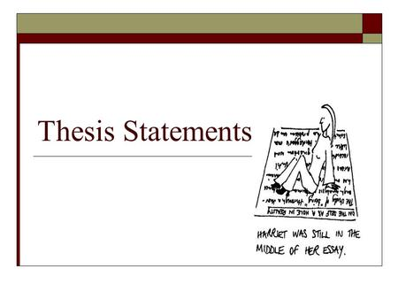 thesis for biographical paper