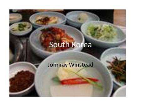 South Korea Johnray Winstead. Geography Map of South Korea.