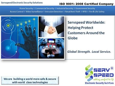 1 ISO 9001: 2008 Certified Company. 2 3 4 5 6.