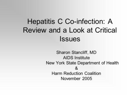challenges to infection control of hep c b and hiv Hepatitis b virus (hbv) infection remains a major public health problem in  prevention and control of hepatitis b virus infection in  risks for hiv,.