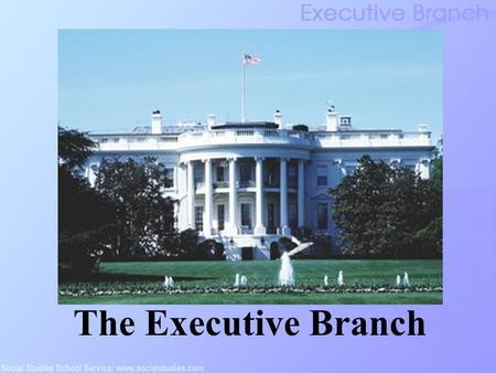 The Executive Branch. Executive Branch: Inception The Articles of Confederation: combined executive and legislative branches The Virginia Plan: proposed.