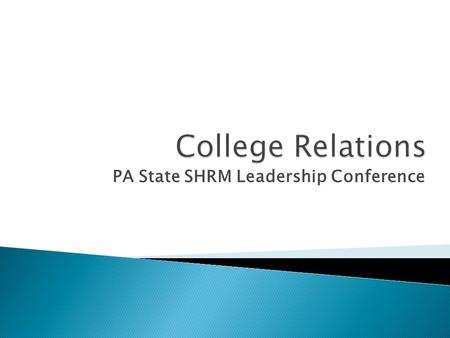 PA State SHRM Leadership Conference. Ellen A. Johnston, PHR Secretary/PR Director PA SHRM Past President, Phila. SHRM Sr. HR Partner Siemens Medical Solutions.