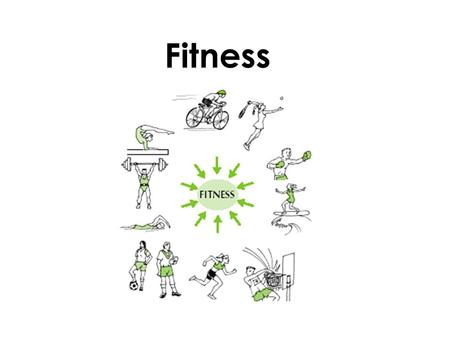 Fitness. Definition of fitness COMPONENTS OF FITNESS  Health Related - Cardiovascular endurance (aerobic capacity) - muscular strength - local muscular.