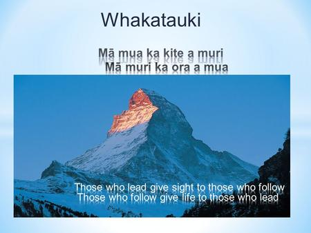 Whakatauki. What are the key steps to effectively facilitating a professional learning group?