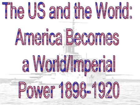 Imperialism The practice of building or extending an empire. - a policy of extending ECONOMIC, POLITICAL OR MILITARY control over a weaker territory.