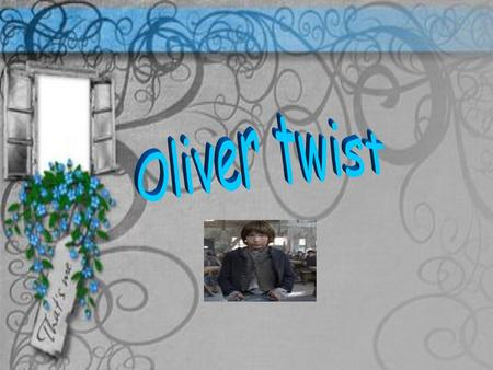 Oliver twist is an orphan, miserable boy. He escapeD from the orphans house because the bad, cruelty treatment that he got from the accountable,Oliver.