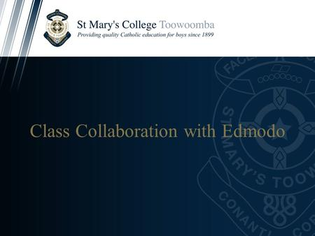 Class Collaboration with Edmodo. What is Edmodo?  - Cliphttp://www.edmodo.com/about social learning network for teachers, students,
