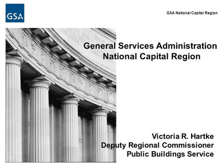 General Services Administration National Capital Region