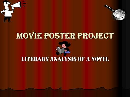 Literary Analysis Of A Novel