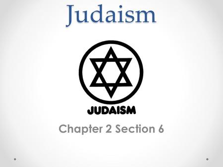 "Judaism Chapter 2 Section 6. Hebrews Background Lived on small land (Canaan) Bible says founder ""Abraham"" Trace heritage through ""Jacob"" (Israel) In Egypt,"