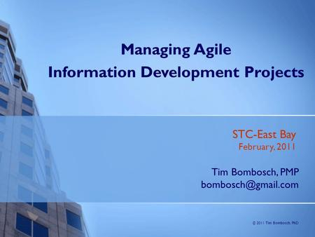Information Development Projects