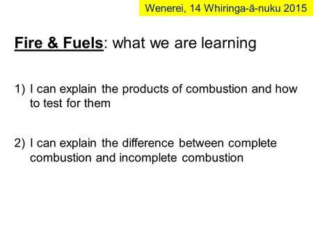 Fire & Fuels: what we are learning