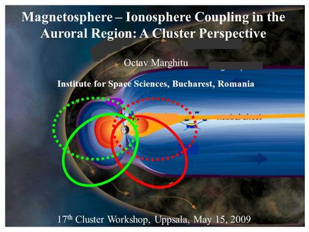 Magnetosphere – Ionosphere Coupling in the Auroral Region: A Cluster Perspective Octav Marghitu Institute for Space Sciences, Bucharest, Romania 17 th.