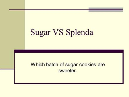Perception of Different Sugars by Blowflies
