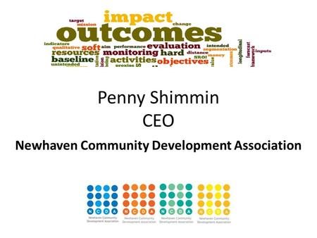 Penny Shimmin CEO Newhaven Community Development Association.