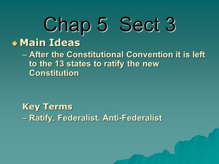 a comparison of federalism and anti federalism and their arguments