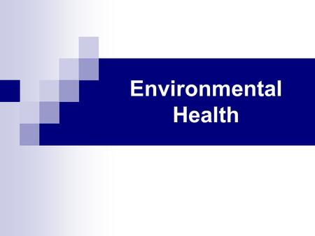 Environmental Health. Air Quality Index (AQI) AQI: developed by the EPA is an index for reporting daily air quality  Range From: 0-500  Air Quality: