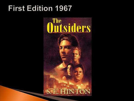 """The Outsiders is about two weeks in the life of a 14-year-old boy. The novel tells the story of Ponyboy Curtis and his struggles with right and wrong."