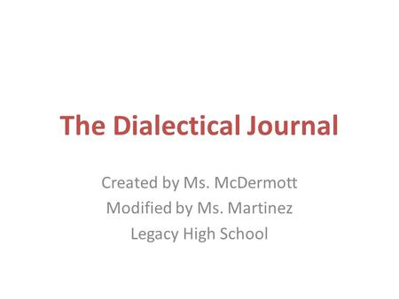 dialectical journals things fall apart essays