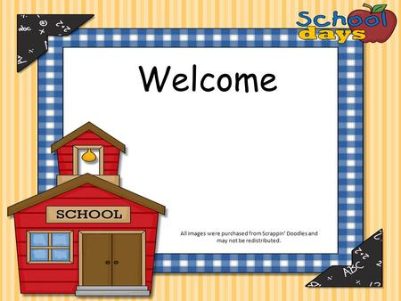 Welcome All images were purchased from Scrappin' Doodles and may not be redistributed.