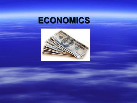 ECONOMICS. ECONOMIC SYSTEMS  METHOD USED BY A SOCIETY TO PRODUCE AND DISTRIBUTE GOODS AND SERVICES.