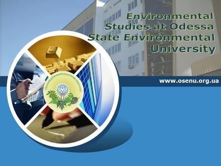 LOGO www.osenu.org.ua. Training of bachelors, specialists and masters in Environmental Science www.osenu.org.ua.