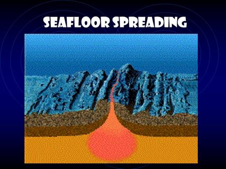 Seafloor Spreading Discovering the Mid Ocean Ridge In 1925, Germany outfitted a boat and set out for two years to systematically and scientifically look.