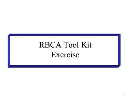 1 RBCA Tool Kit Exercise. 2 Groundwater protection : Tier 1 compliance point Point of compliance=Point of exposure (on site) compliance point (receptor)