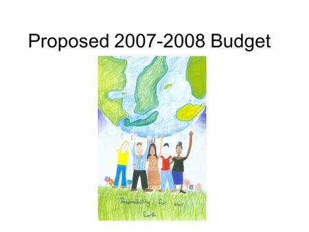 Proposed 2007-2008 Budget. Assumptions COLA 4.53% 22,456.8 ADA No Growth (we declined this past year) Staffing by formula Employee Retirement Funded at.