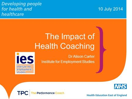 The Impact of Health Coaching