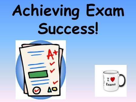 Achieving Exam Success!. C1 Exam Date: Friday 15 th June 2012 1 hour paper 60 marks 25% towards your Chemistry GCSE.
