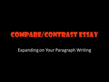compare and contrast essay template college graduate schools     YouTube