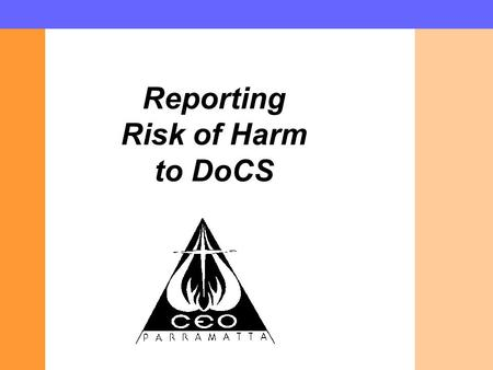Reporting Risk of Harm to DoCS. The Children and Young Persons (Care and Protection) Act 1998 provides the statutory basis for DoCS to provide care and.