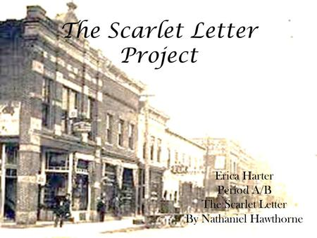 3 scaffold scenes in the scarlet letter