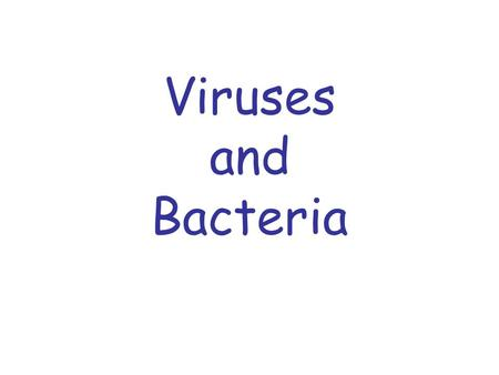 Viruses and Bacteria. Viruses A virus is a piece of hereditary material (RNA or DNA) that is covered by protein that infects and reproduces in living.