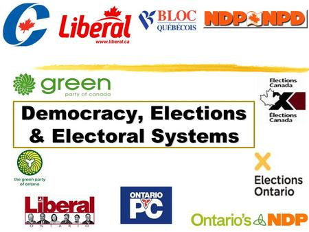 Democracy, Elections & Electoral Systems. This week 1.Democracy 2.Electoral systems.