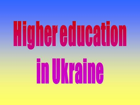 The structure of the education system in Ukraine 3 4 5 6 7 8 9 10 11 12 13 14 15 16 17 18 19 20 21 22 23 24 25 26 27 28 29 30 AgeAge Pre-school education.