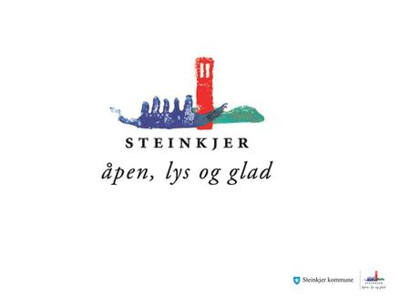 Facts about Steinkjer Population: 21 549 (01.06.14) Area: 1564.2 square kilometers Celebrated 150 years as a city in 2007 Mayor: Bjørn Arild Gram, Sp.