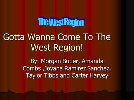 REGIONS OF THE USA Ppt Video Online Download - Facts about the west region