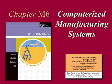 Computerized Manufacturing Systems