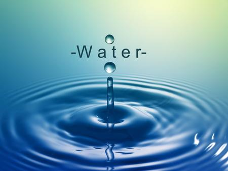 -W a t e r-. Water is necessary for all forms of life and has been forever. Water is necessary in the diets of all living things, shaping landscapes,