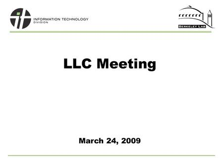 LLC Meeting March 24, 2009. 2 SciFinder Usage Library Space Update Library Web Site Changes UCB Partnership Update o LLC Input on Identifying New Journals.