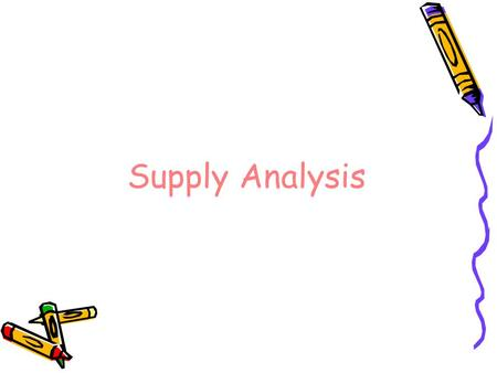 an analysis of the law of supply and demand Chapter 3 outline i demand and supply analysis a general definitions and comments 1 the law of demand states that consumers will purchase more of a good at lower prices and less of a good at higher prices 2 the law of supply states that producers will sell less of a good at lower prices and more of a good.