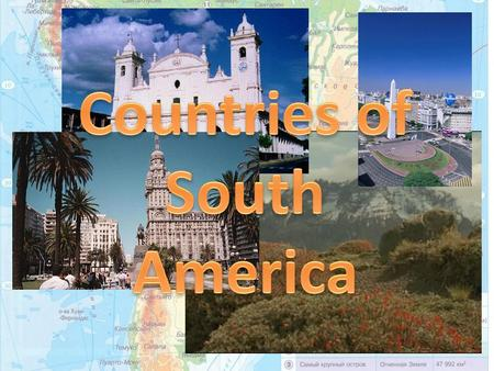 More than 330 million people live in South America. The average density of population on the Atlantic coast is 50 -100 persons to the sq km. There are.