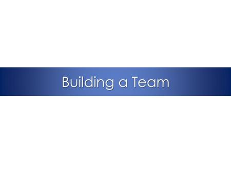 Building a Team. Slide 2 Immersion Call Overview Week 1: Project overview Week 2: Science of Improving Patient Safety Week 3: Eliminating CLABSI Week.