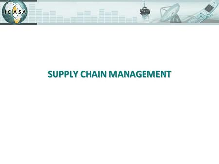 SUPPLY CHAIN MANAGEMENT. Background The Public Finance Management Act was approved and promulgated in March 1999 to give effect to Sections 213, 214,