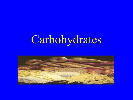 Carbohydrates. General characteristics the term carbohydrate is derived from the french: hydrate de carbone compounds composed of C, H, and O empirical.