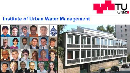 Institute of Urban Water Management. Technical & Chemical Laboratory.