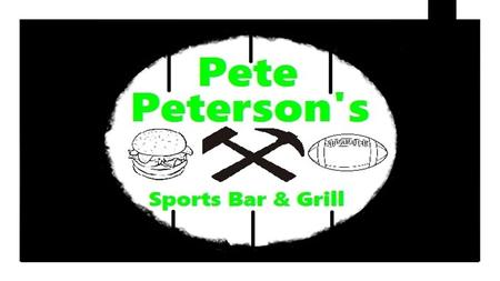 "What is Pete Peterson's? ""The spot that offers multiple experiences"""