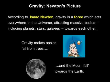 gravity isaac newton and astronomy - photo #13